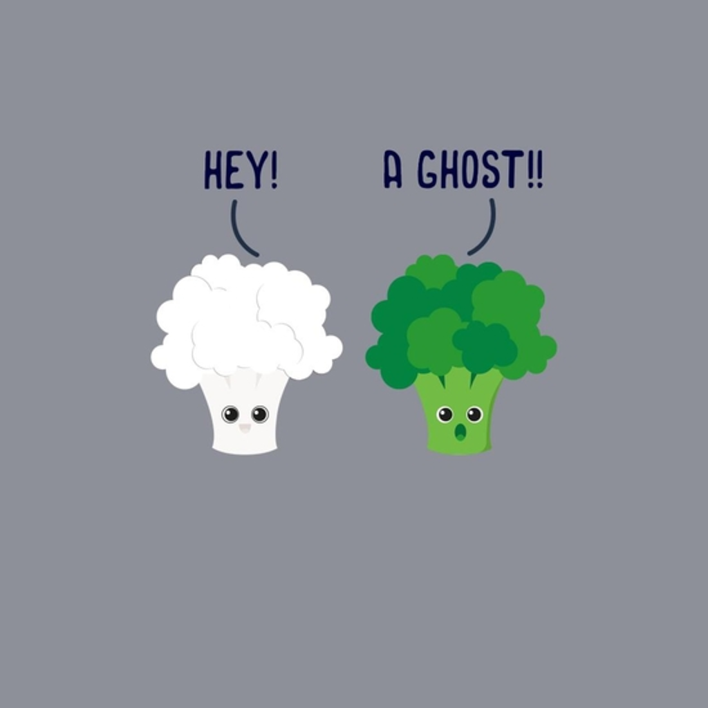 BustedTees: Ghost Broccoli
