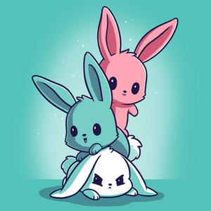 TeeTurtle: Fluffy Bunnies