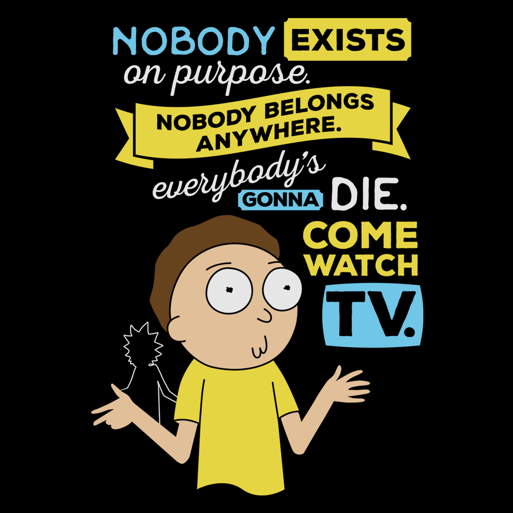 Pop-Up Tee: Rick and Morty