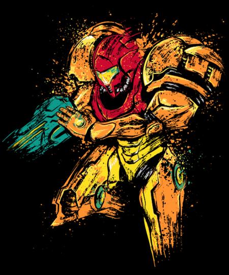 Qwertee: Galactic Bounty Hunter