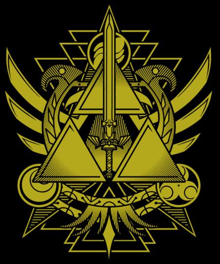Qwertee: Sword of The Sky