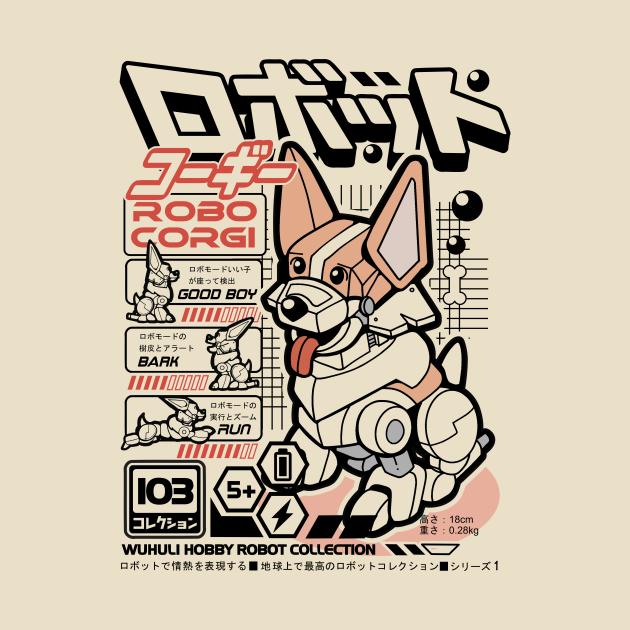 TeePublic: Robo Corgi