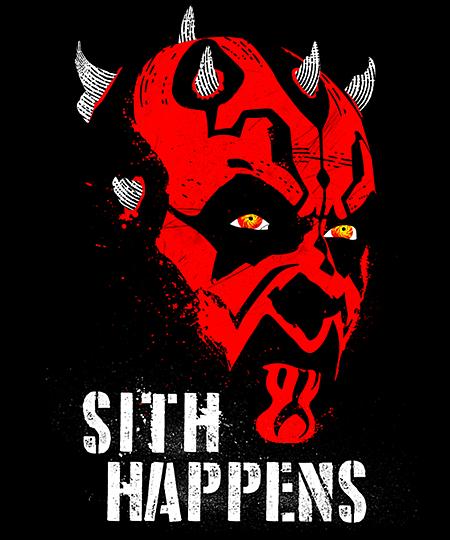 Qwertee: Sith Happens