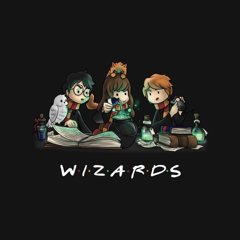 TeeFury: Wizards