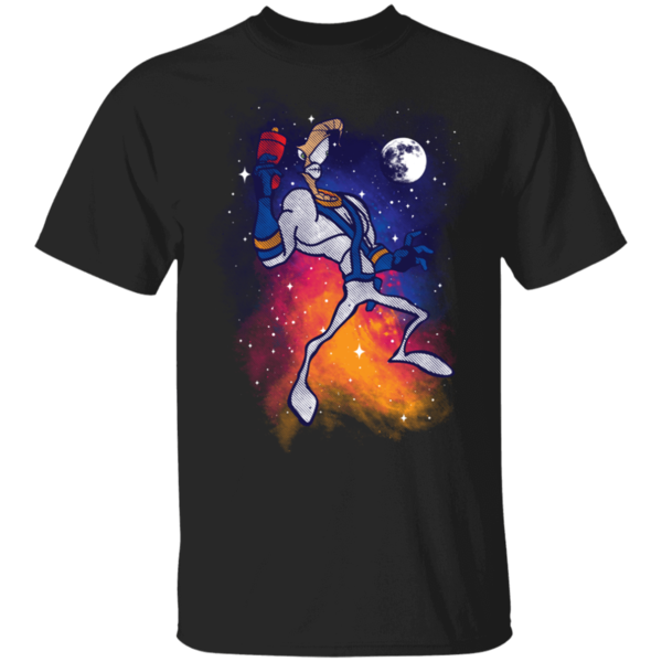 Pop-Up Tee: Space Worm