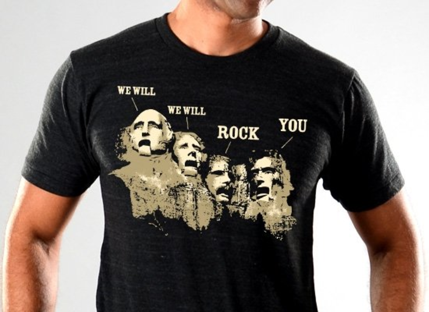 SnorgTees: We Will Rock You Limited Edition Tri-Blend