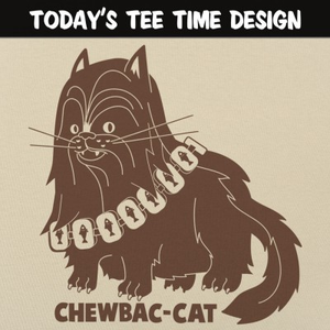 6 Dollar Shirts: Chewbac-Cat