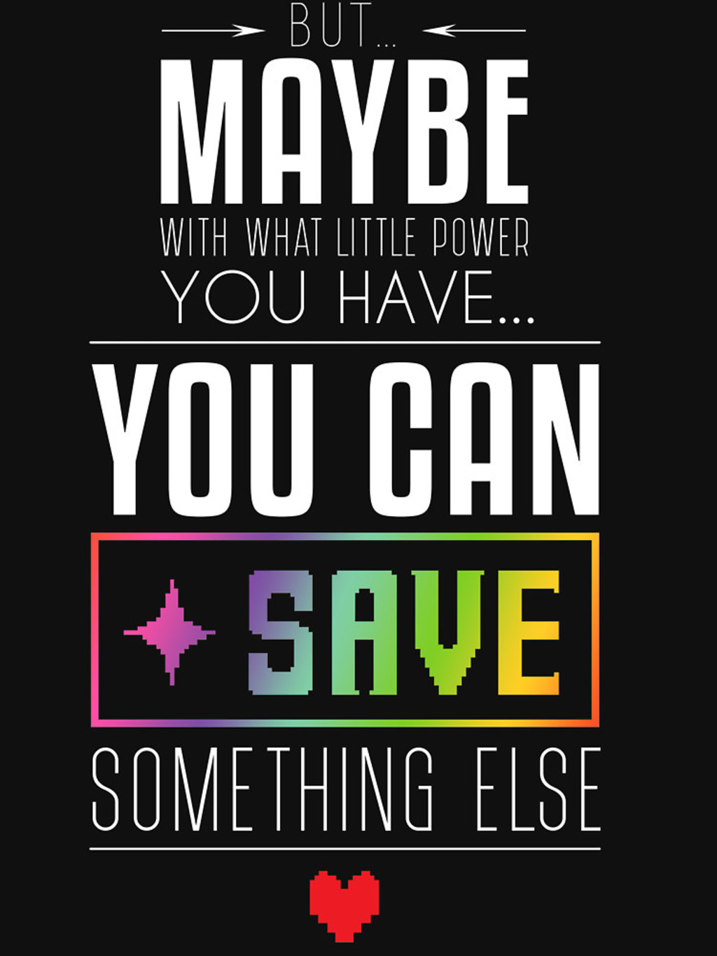 RedBubble: Maybe you can SAVE something else