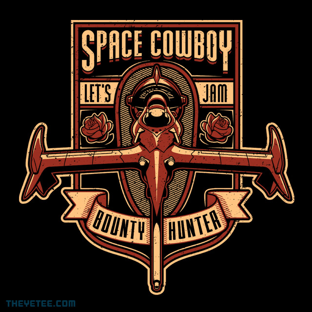 The Yetee: Just a Humble Bounty Hunter