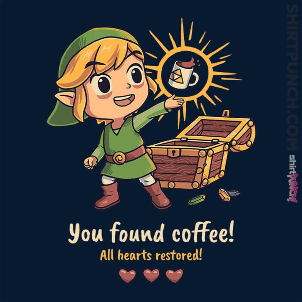 ShirtPunch: Legendary Coffee