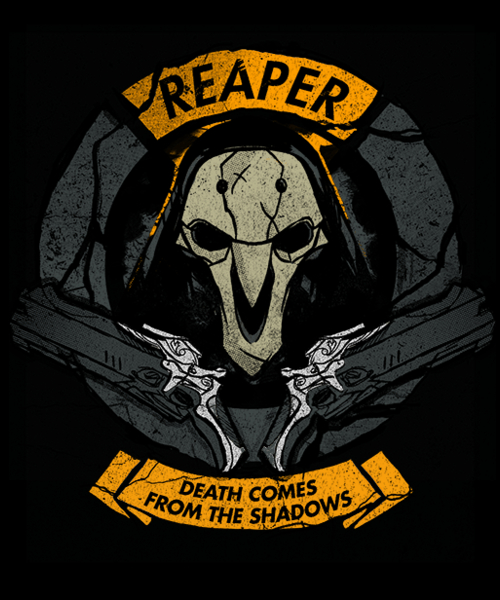 Qwertee: From the Shadows