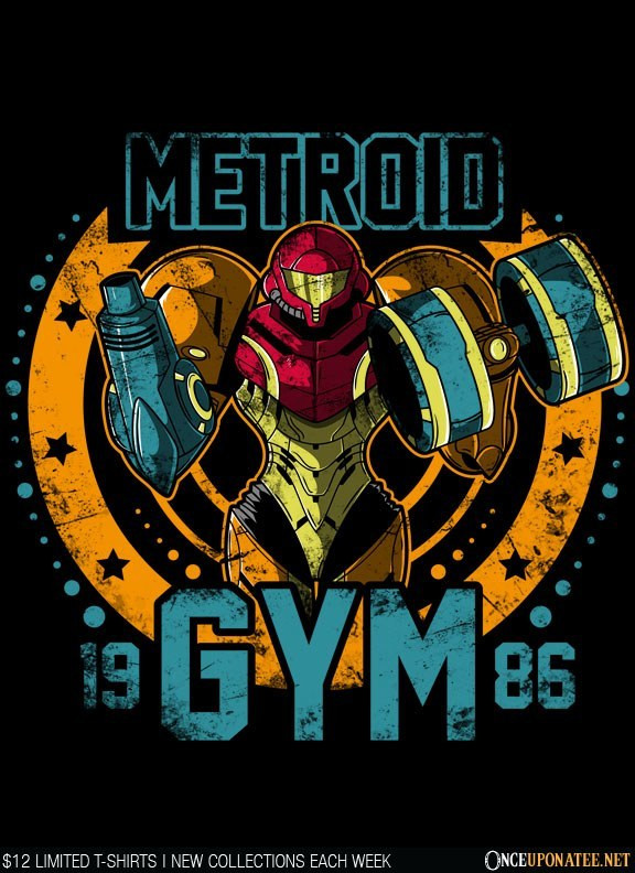 Once Upon a Tee: Metroid Gym