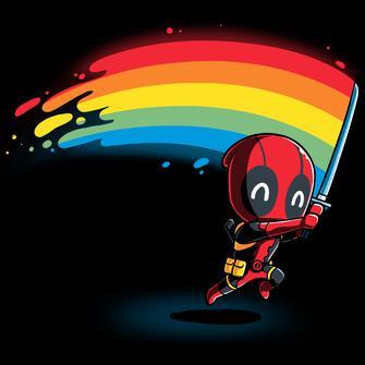 TeeTurtle: Rainbow Katana