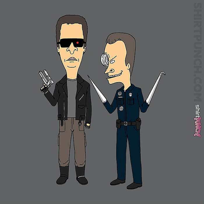 ShirtPunch: T800 and T1000