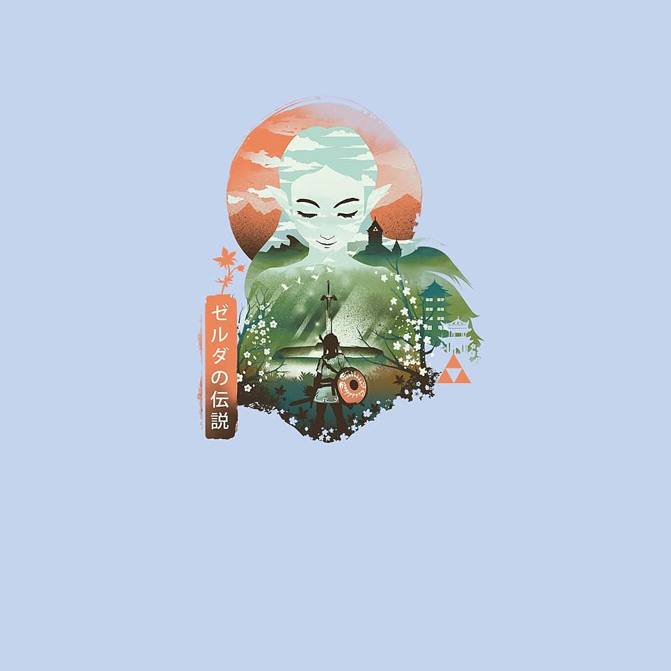 TeeFury: Ukiyo-E Legendary Princess