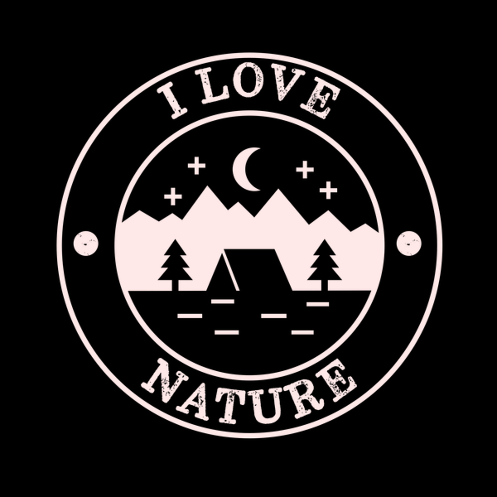 NeatoShop: Fantastic I Love Nature Minimal