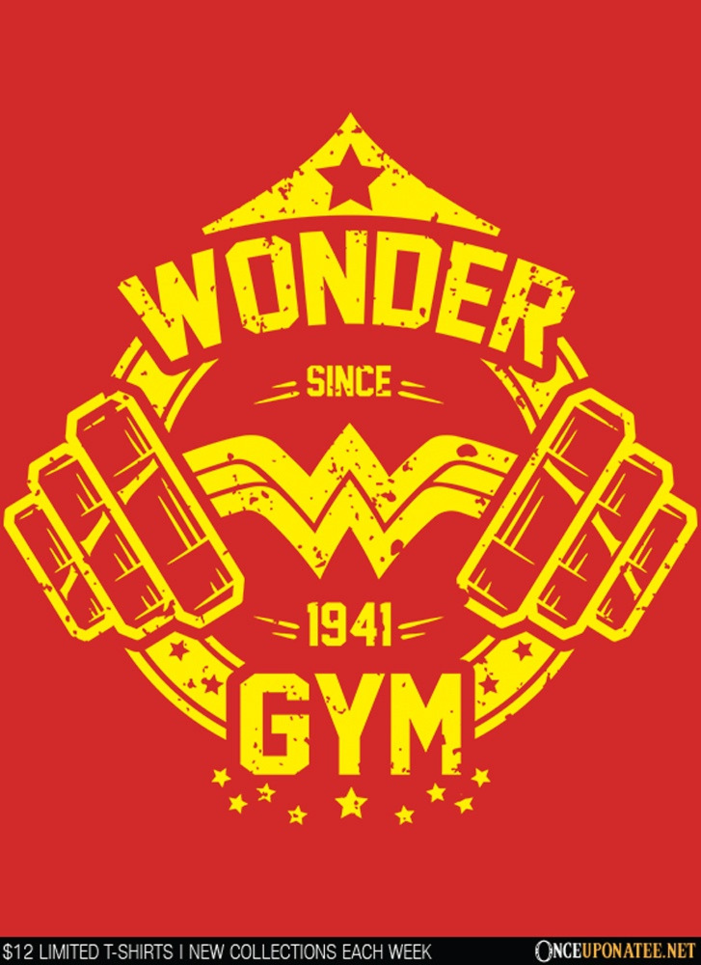 Once Upon a Tee: Wonder Gym