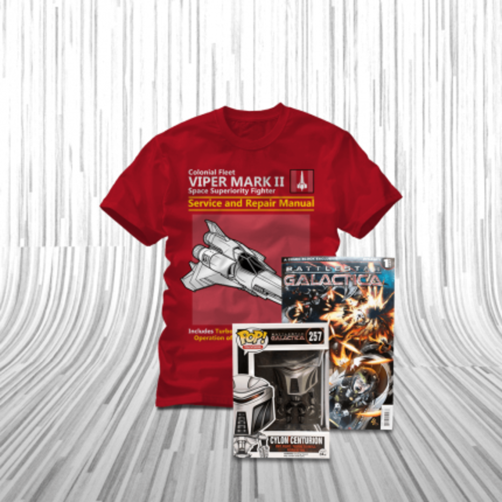 ShirtPunch: Battlestar Bundle