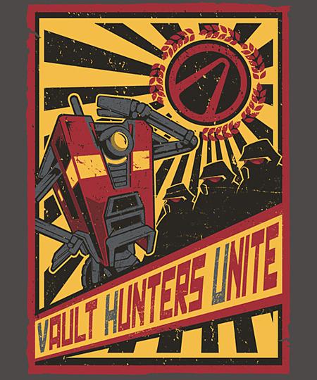 Qwertee: Vault Hunters Unite