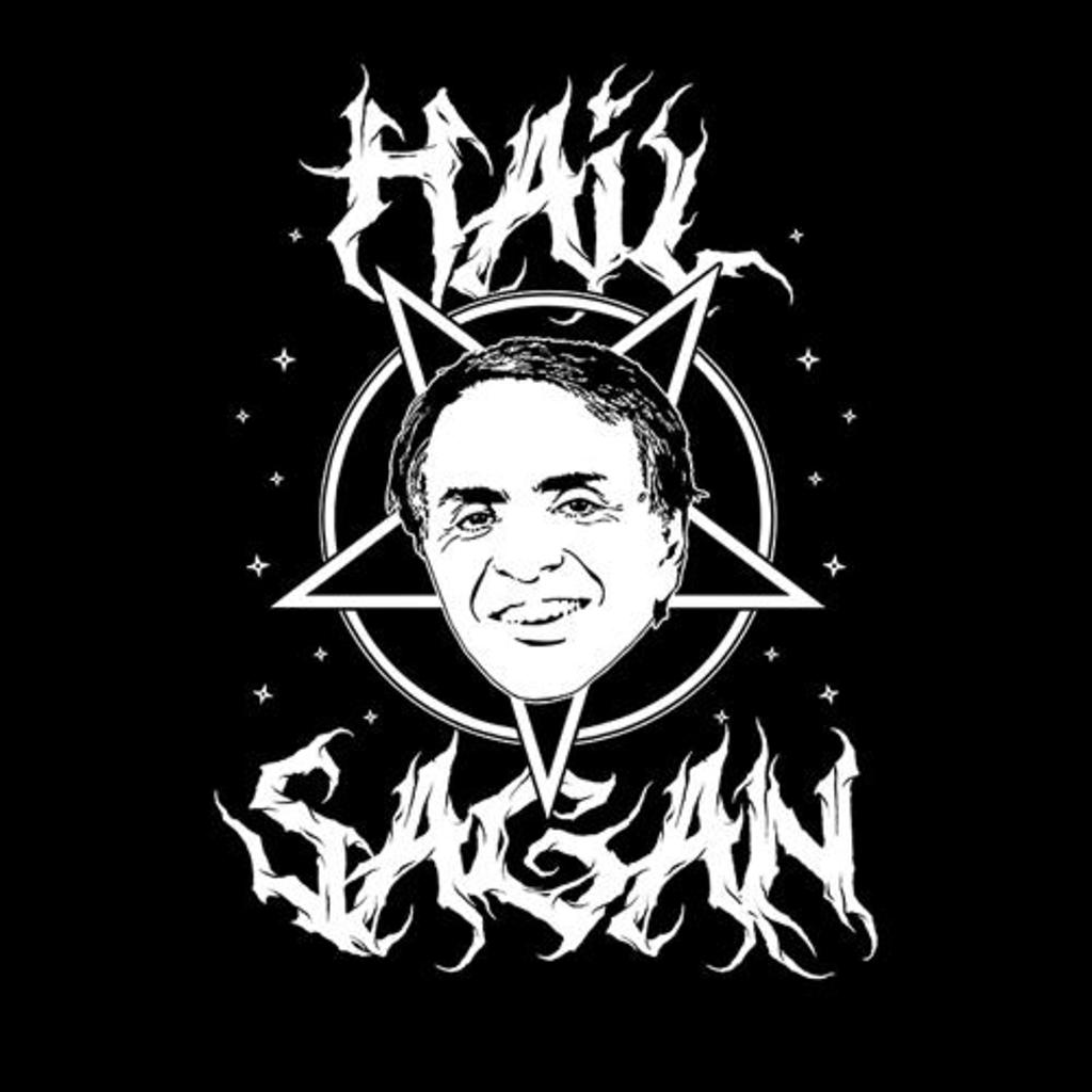 Five Finger Tees: Hail Sagan T-Shirt