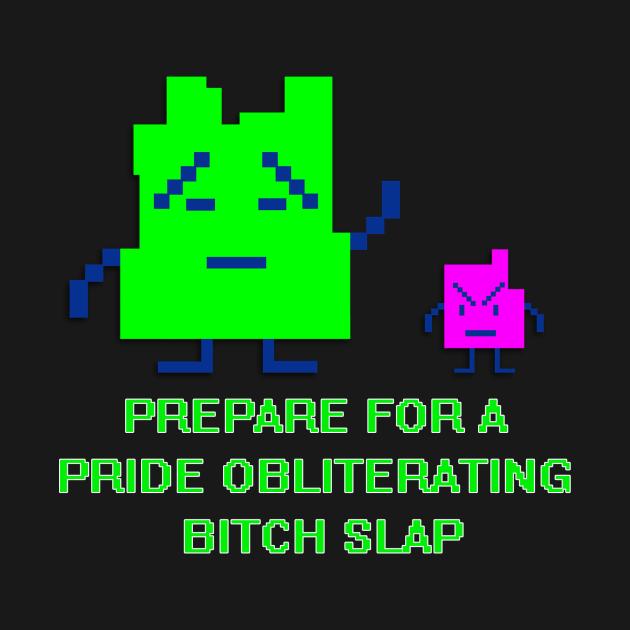 TeePublic: Mooninite Bitch Slap