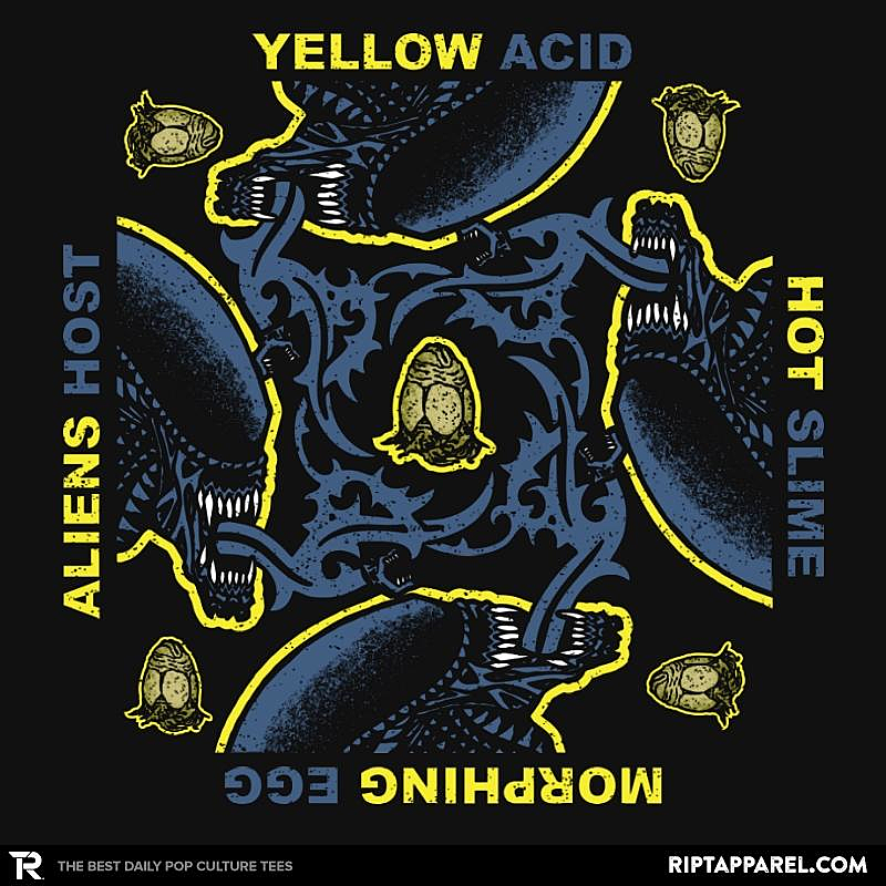 Ript: Yellow Hot Morphing Aliens