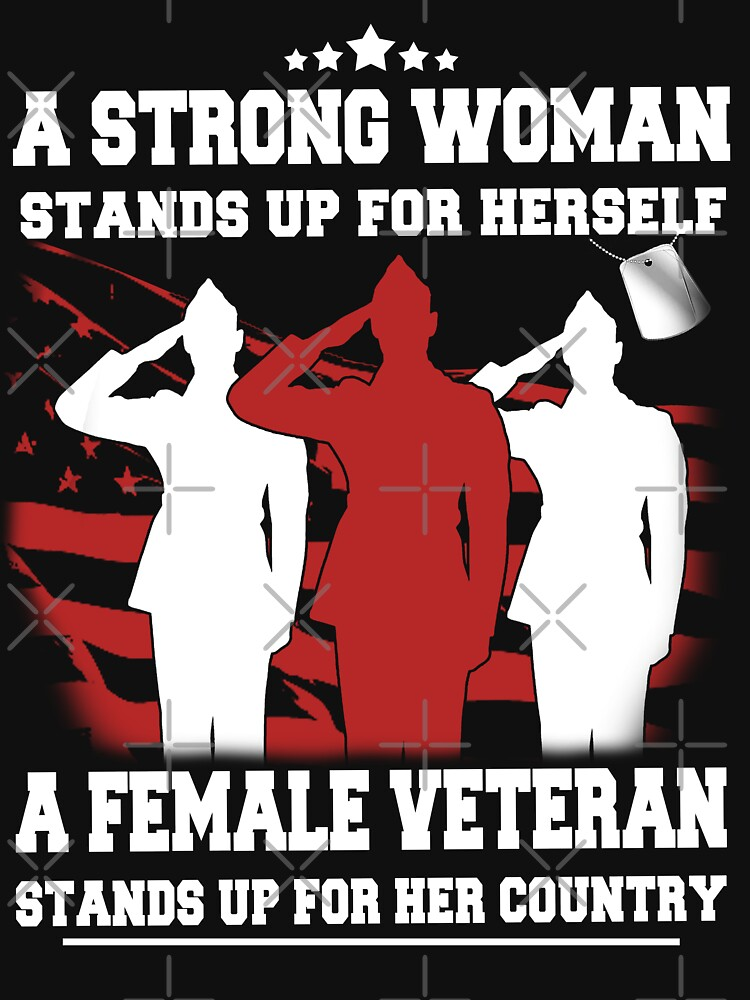 RedBubble: FEMALE VETERAN PRIDE