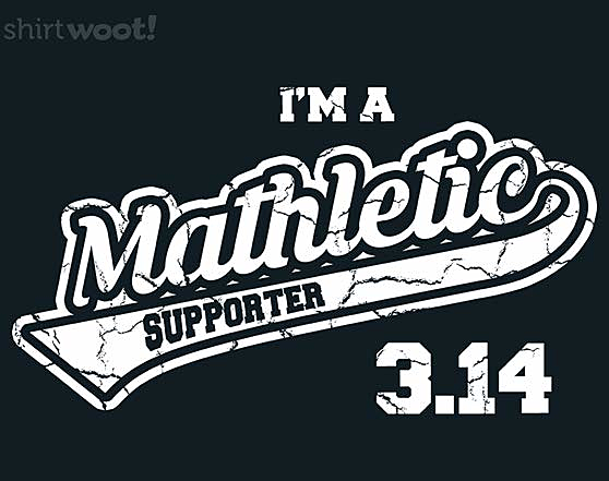 Woot!: Mathletic Supporter