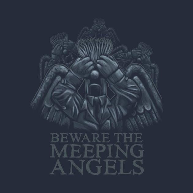 TeePublic: Beware of the Meeping Angels