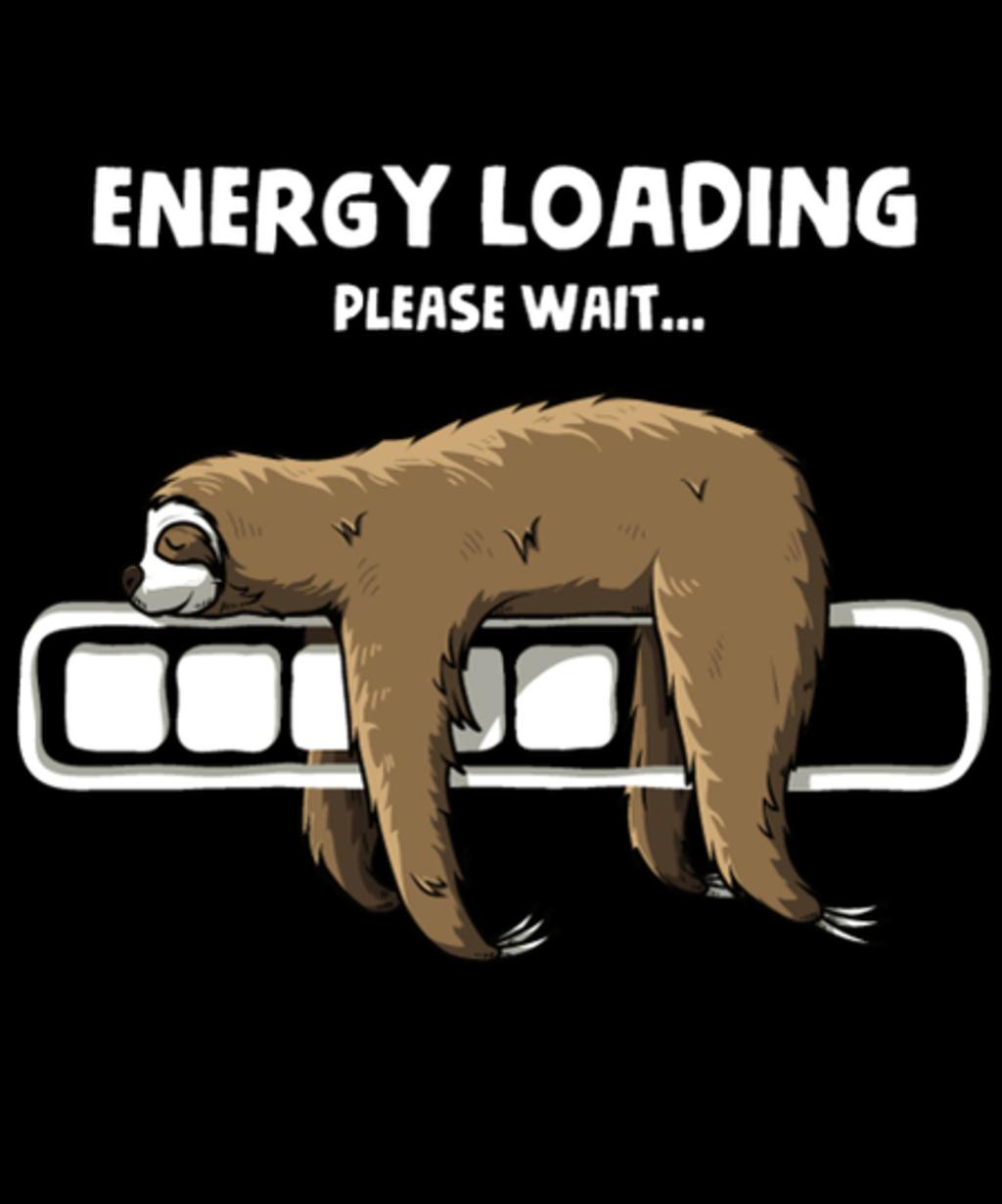 Qwertee: Energy loading