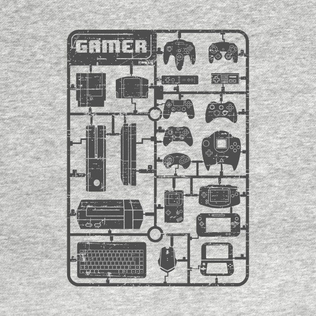 TeePublic: Gamer Parts T-Shirt