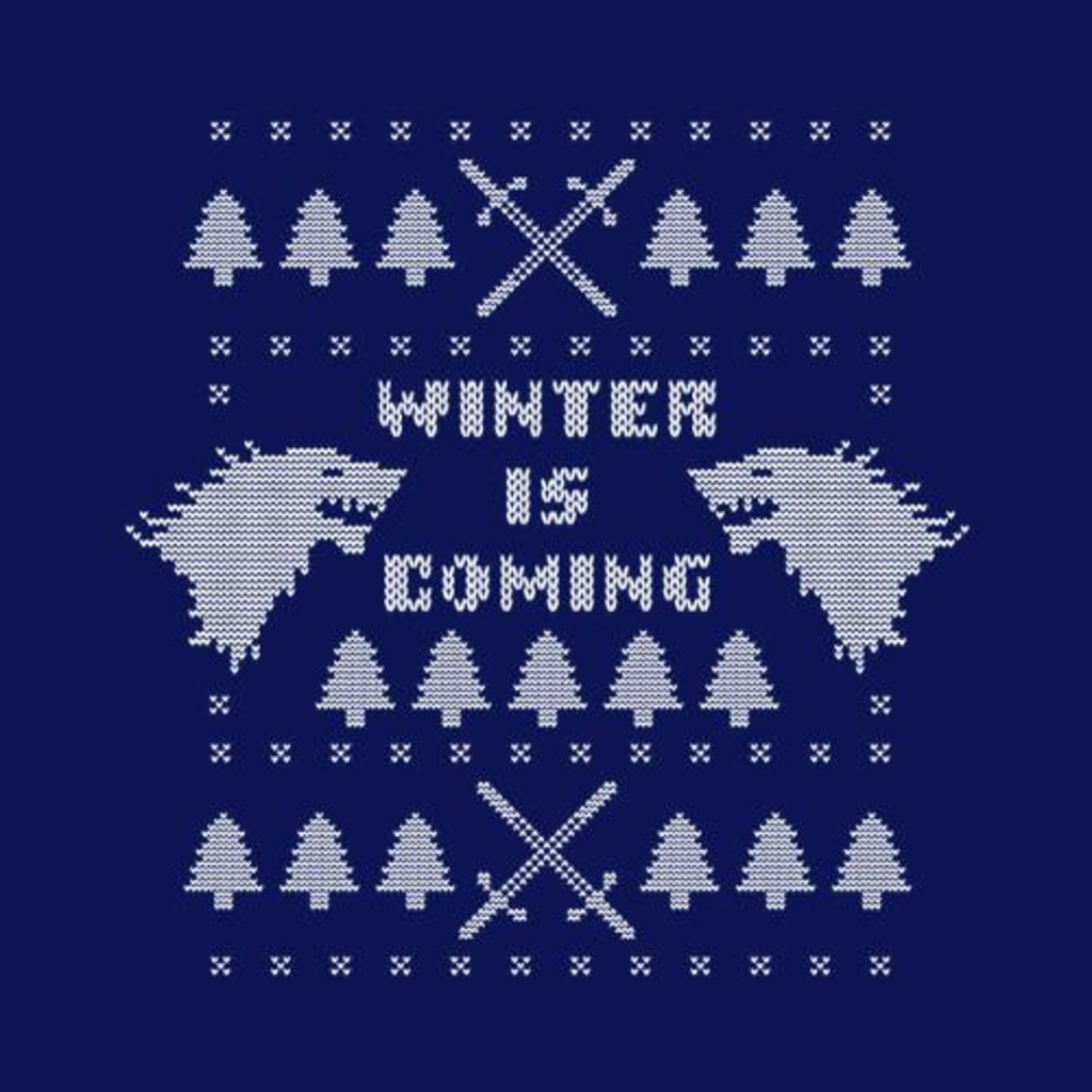 Five Finger Tees: Winter Is Coming Ugly Christmas Sweater T-Shirt