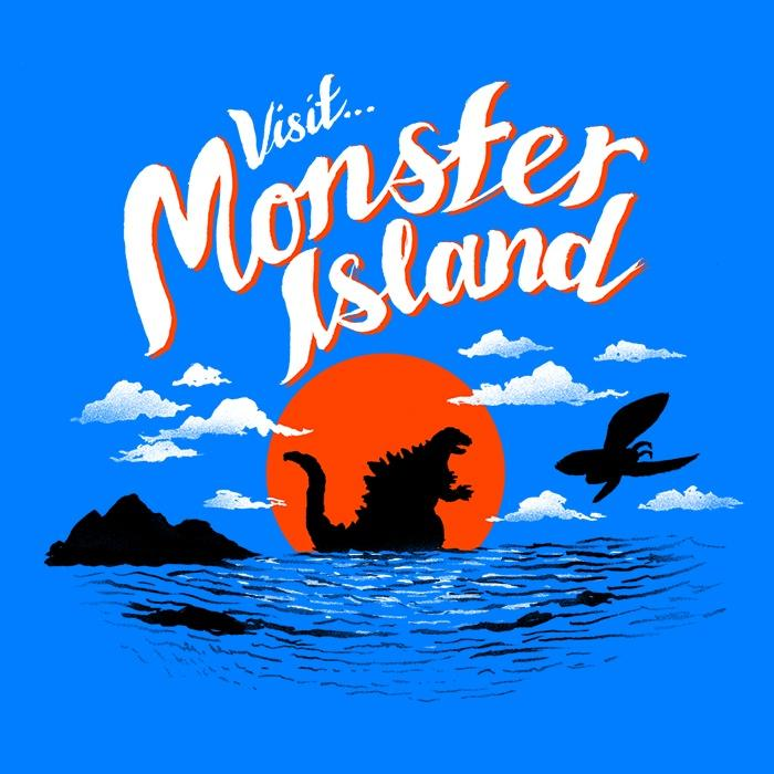 Once Upon a Tee: Monster Island