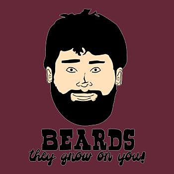 BustedTees: Beards: They Grow On You!