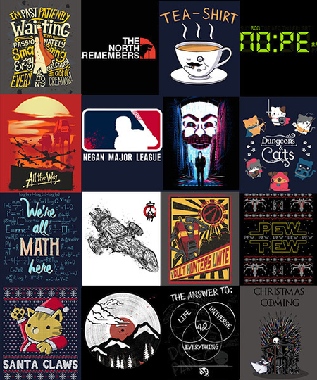 Qwertee: Black Friday InsaniTEE