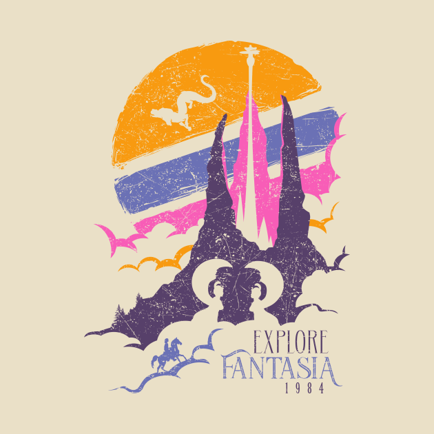 TeePublic: Explore Fantasia
