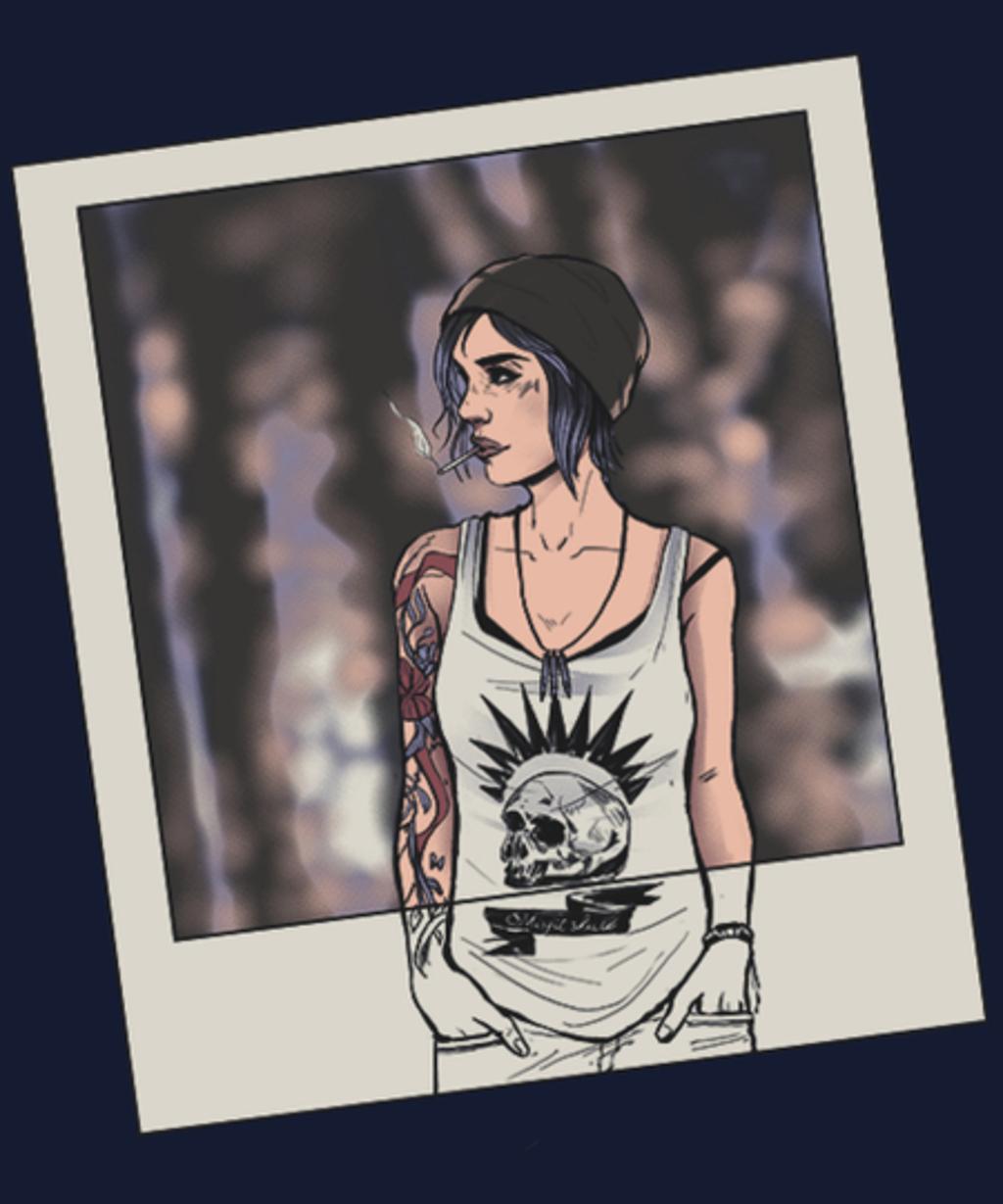 Qwertee: Chloe Polaroid