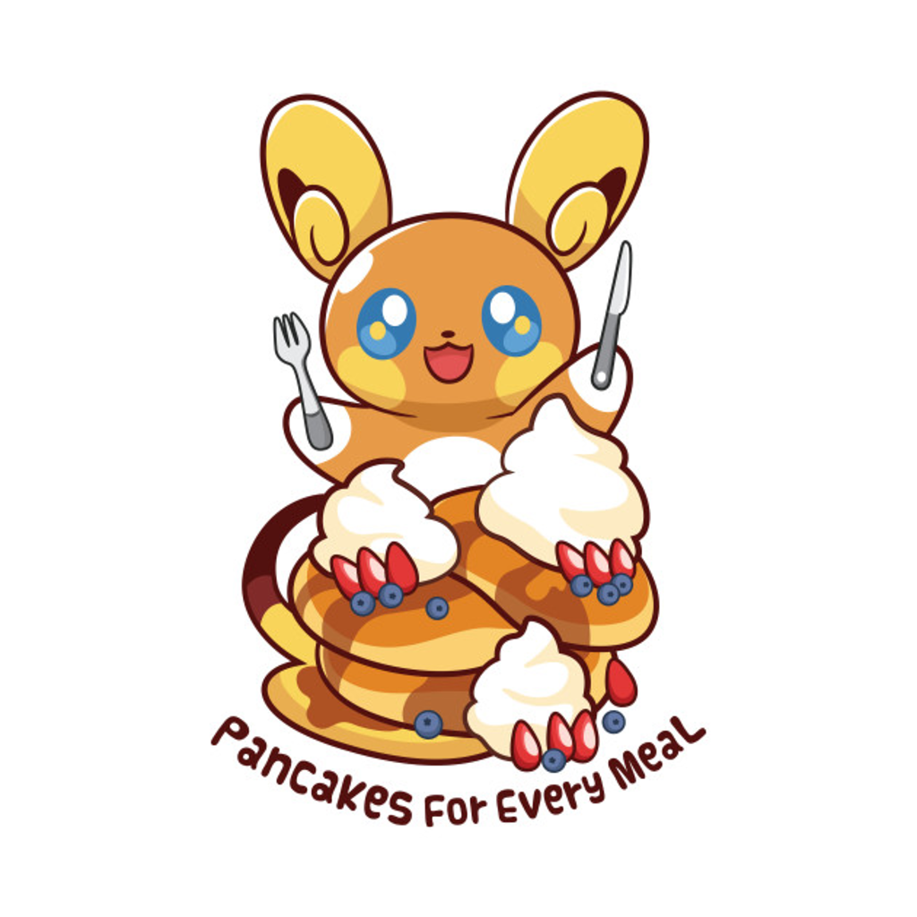 TeePublic: Pancakes For Every Meal