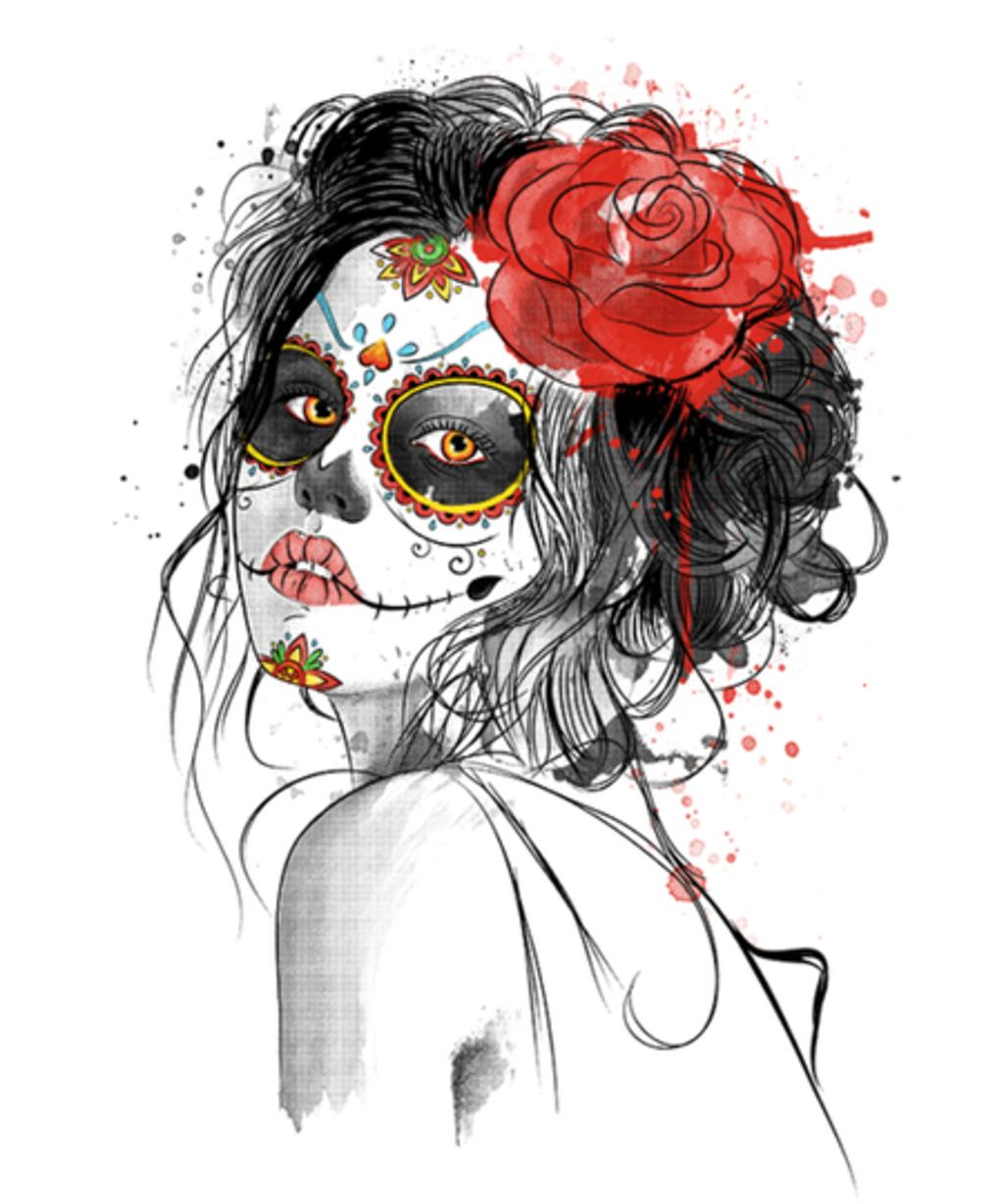 Qwertee: Día de los Muertos