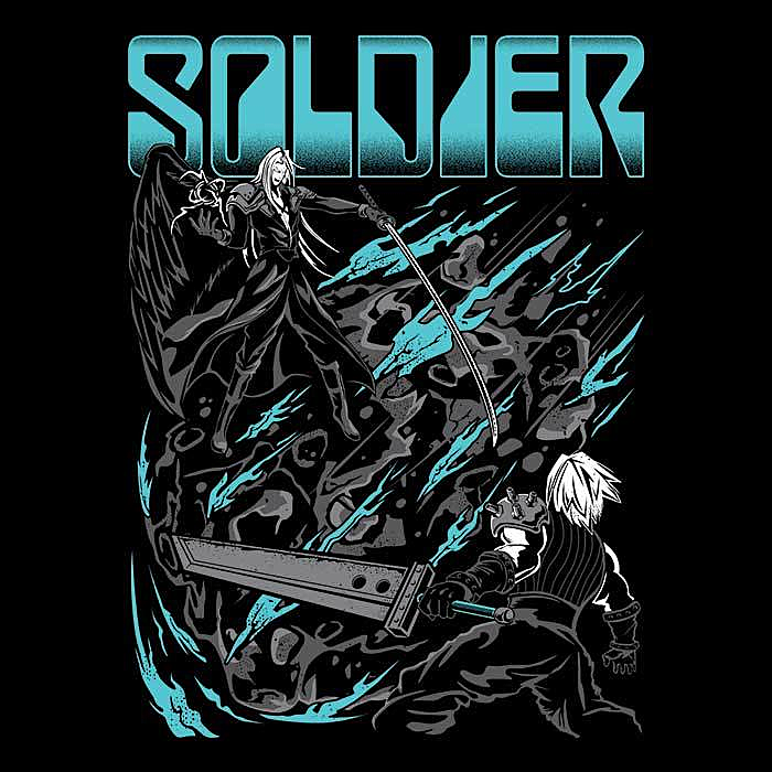 Once Upon a Tee: Final Soldier