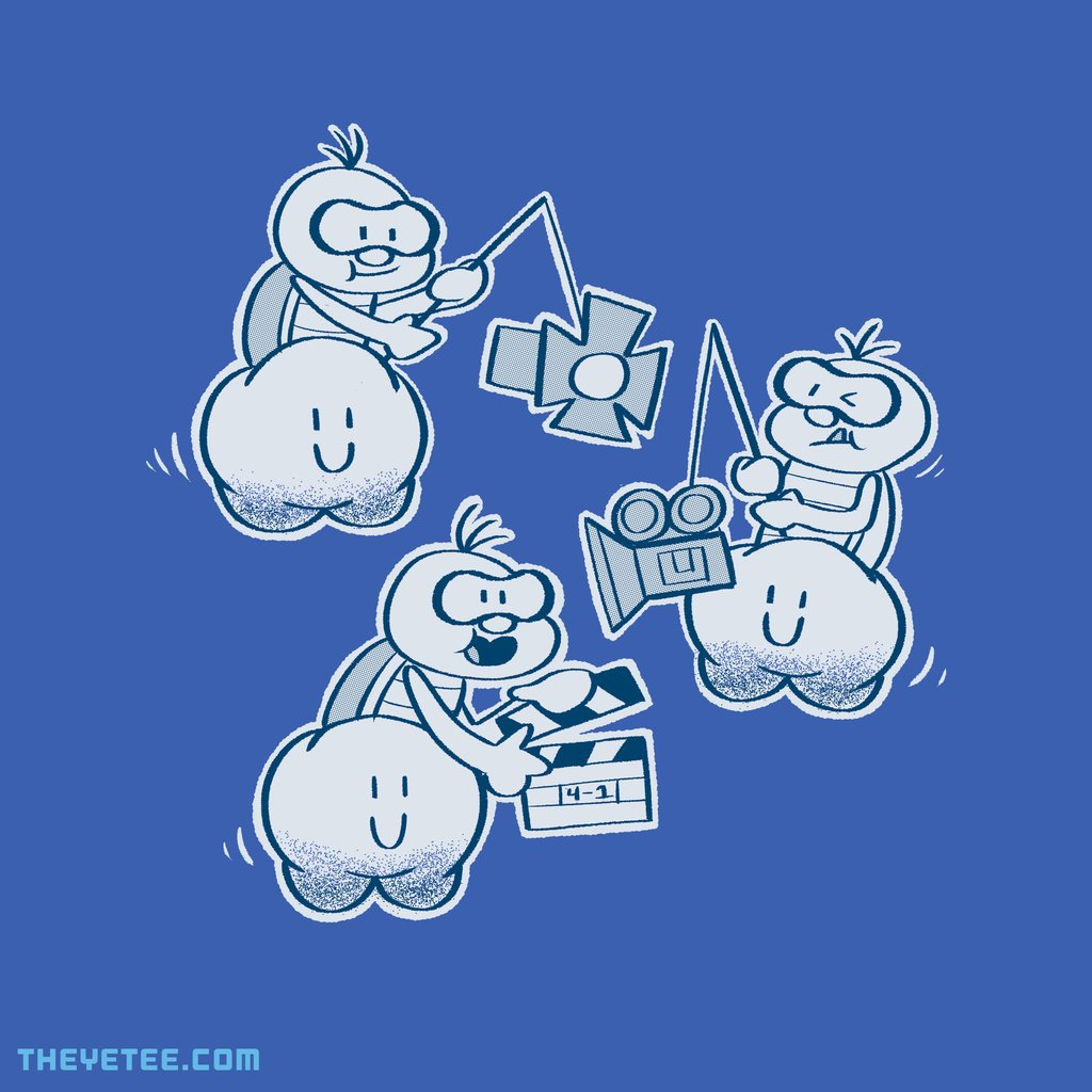 The Yetee: Lights! Camera! Turtle!