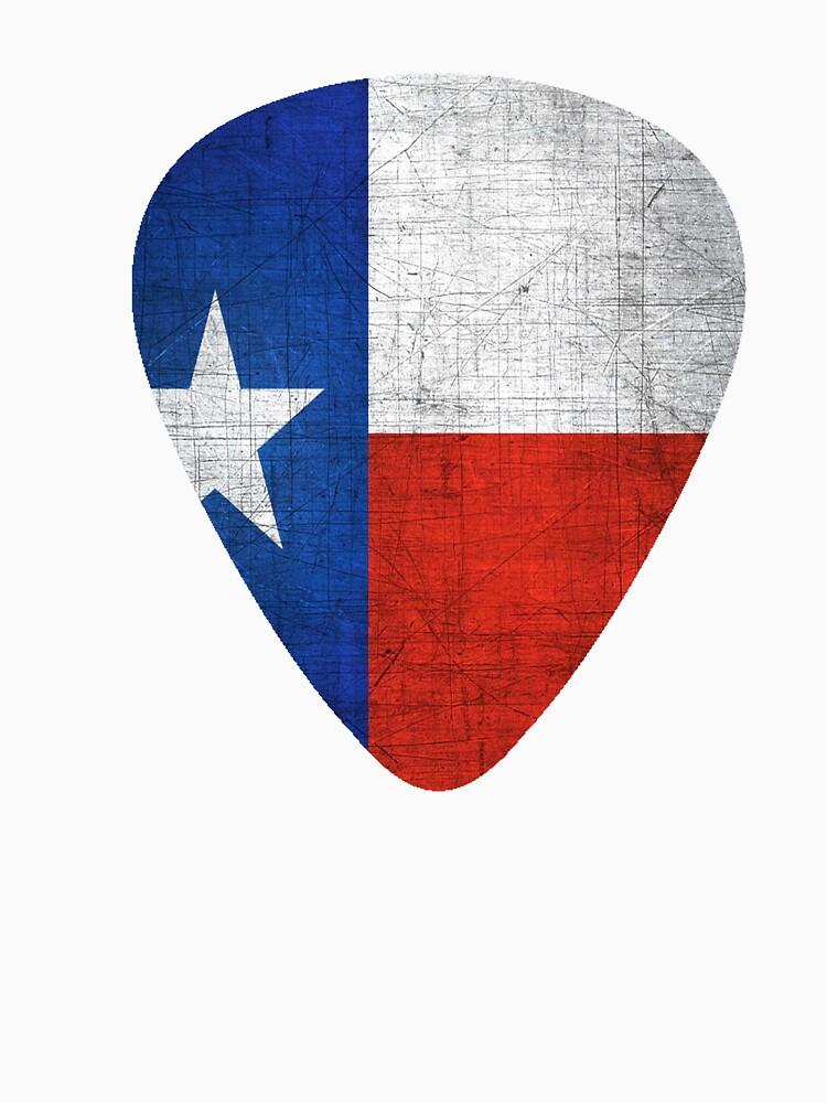 RedBubble: Texas Flag Guitar Pick