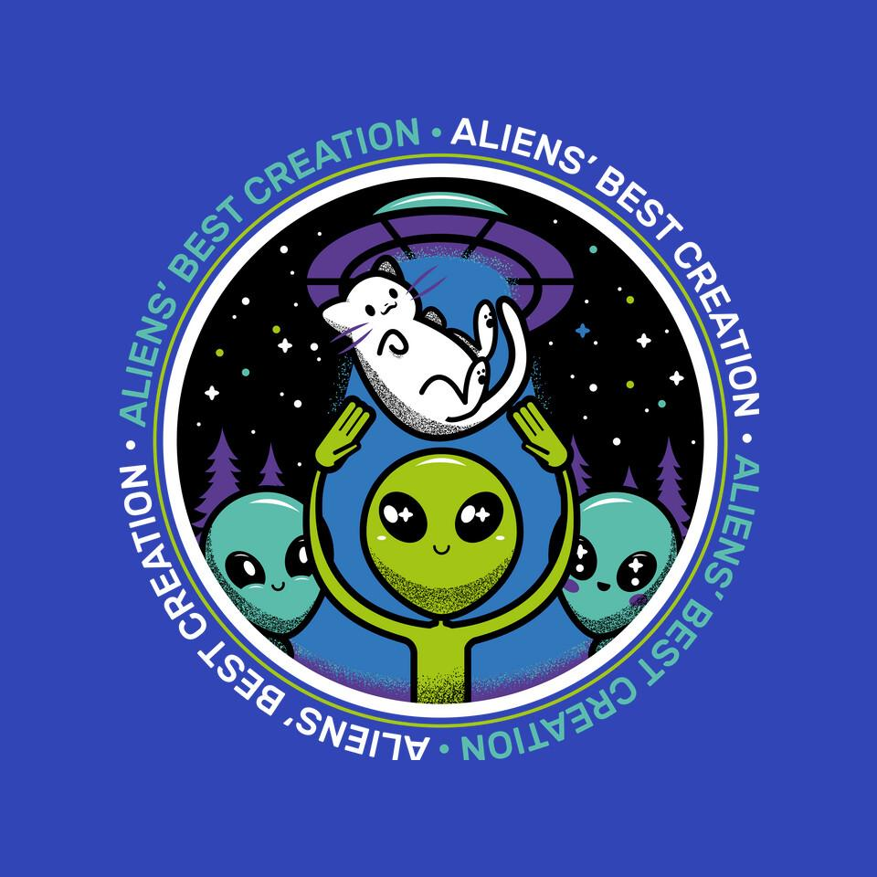 TeeFury: Aliens Best Creation