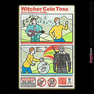 ShirtPunch: Witcher Coin Toss