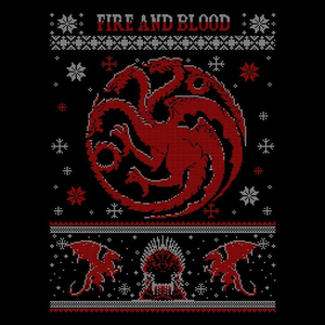 Once Upon a Tee: Red Dragon Sweater
