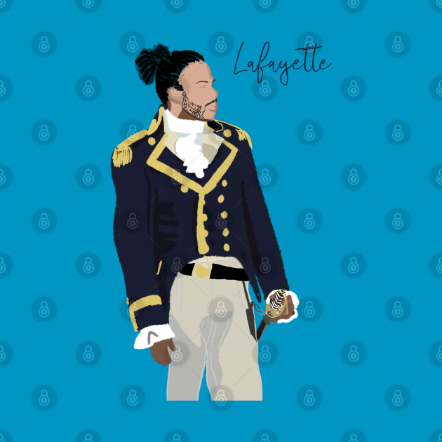 TeePublic: Hamilton Lafayette Daveed Diggs