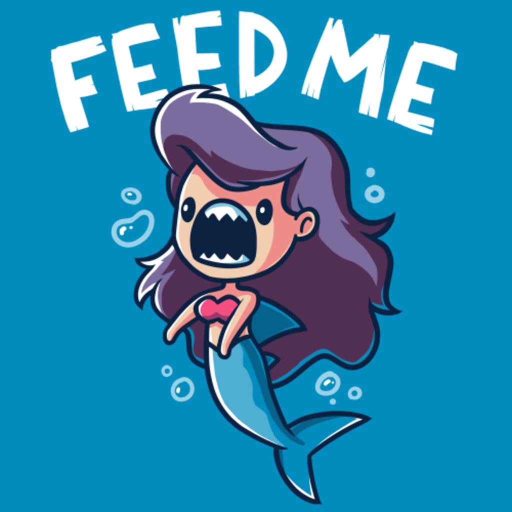 TeeTurtle: Feed me! (Mermaid Shark)