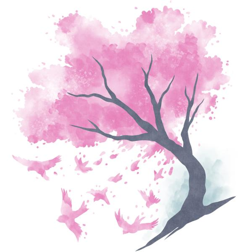 TeeTurtle: Cherry Blossoms