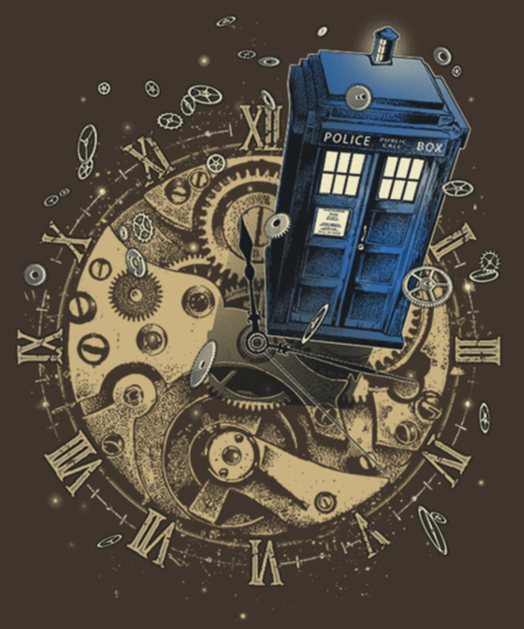 Qwertee: Watch the Time
