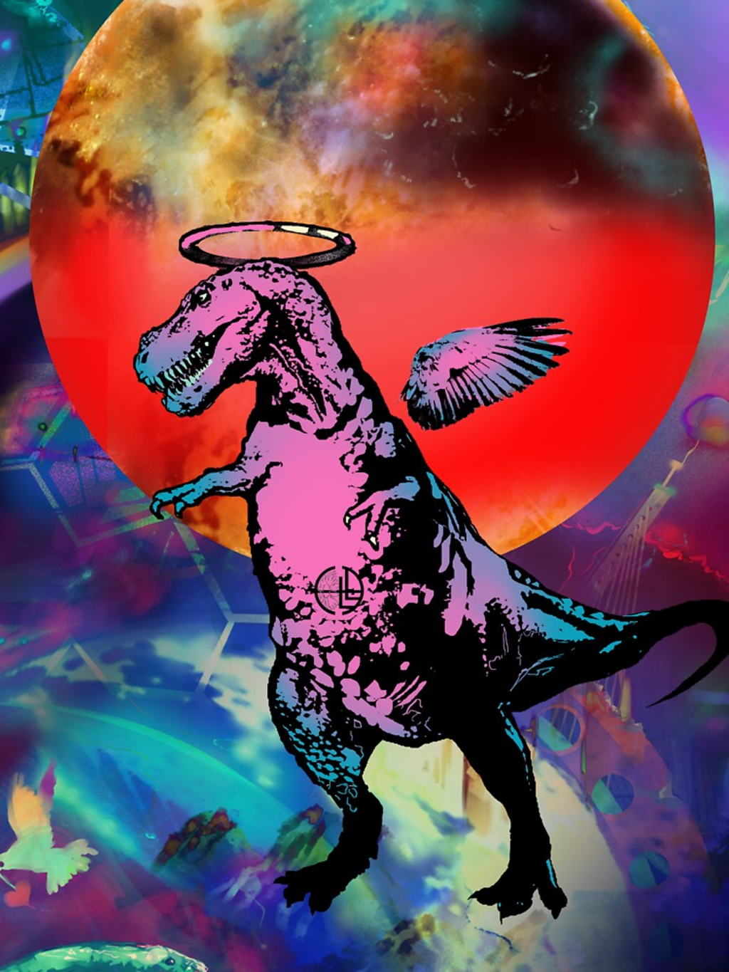 RedBubble: Space Rex
